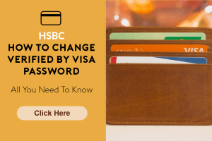 hsbc how to change verified by visa password