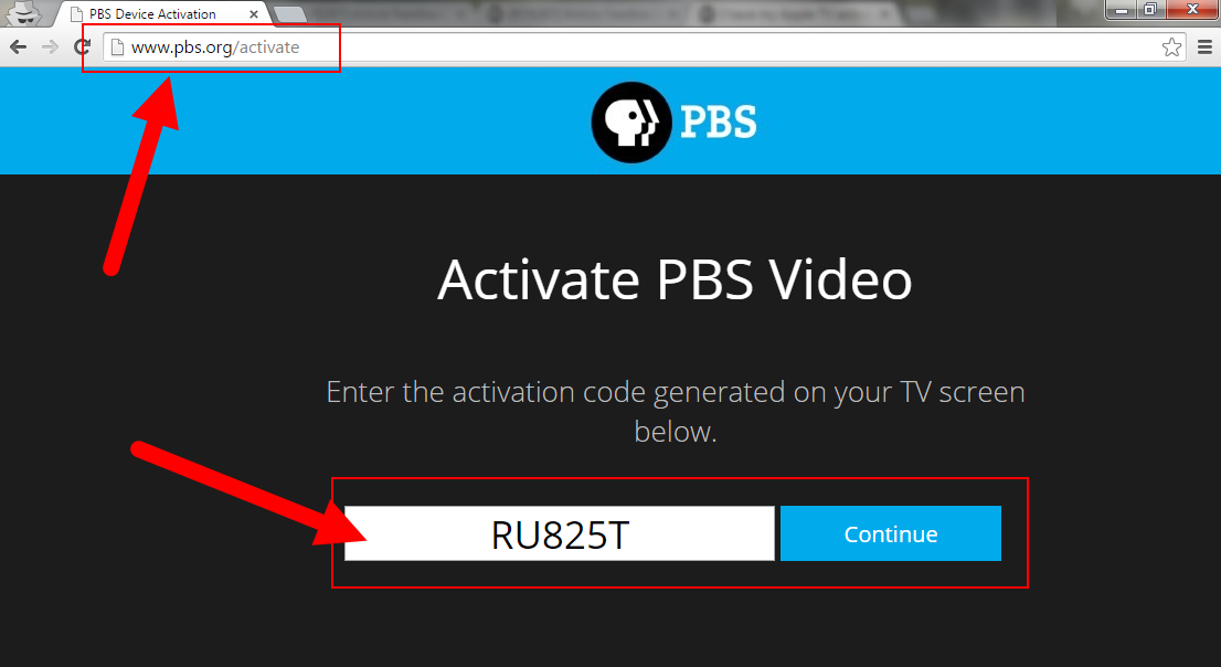 pbs-activate-code